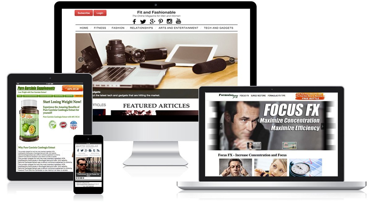 Black Door Media Web Design