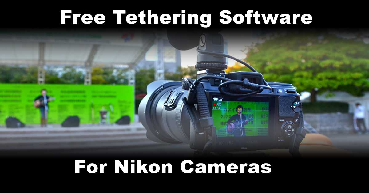 Best Free Tethering Software for Nikons and Macs - Black