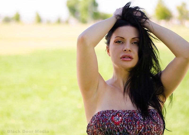 Photo session at Desert Breeze Park, Las Vegas, NV of Stephanie shot by Black Door Media