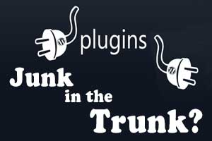 Is your wordpress plugin junk or is it working as intended?