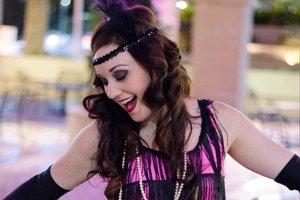 Jenny's flapper girl photo shoot with Black Door Media